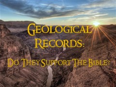 Geological Records